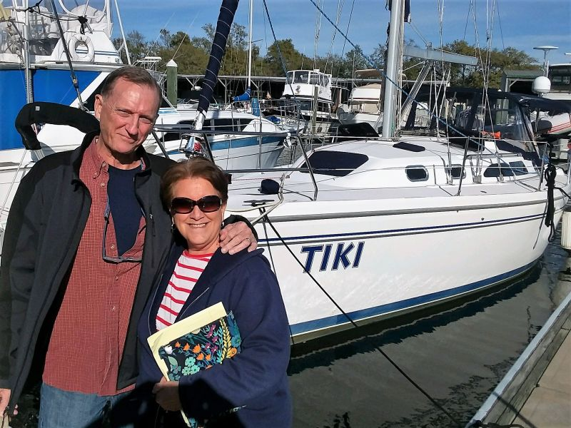 Russell and Pam Brown | 35' Catalina 350